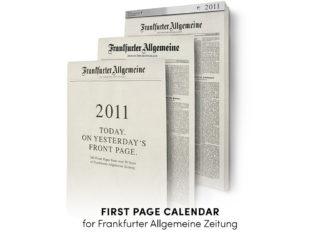First Page Calendar